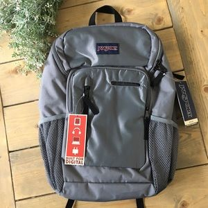 Jansport Impulse Shady Grey Triangle Backpack